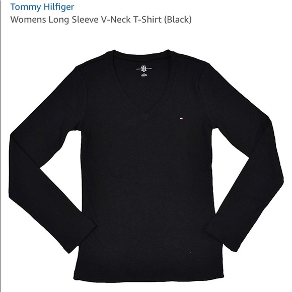 Tommy Hilfiger Tops - Long sleeve v neck